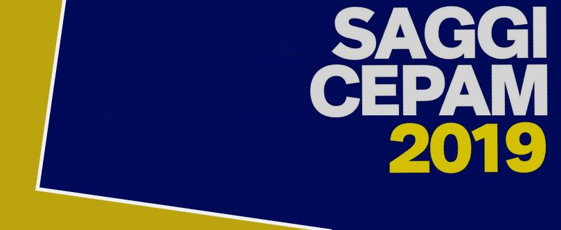 SAGGI CEPAM 2019